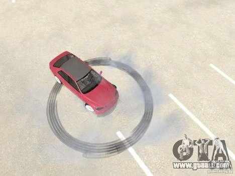 Lexus IS300 HellaFlush for GTA San Andreas back view