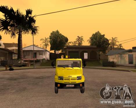 ZIL 5301 Bull hauler for GTA San Andreas back view