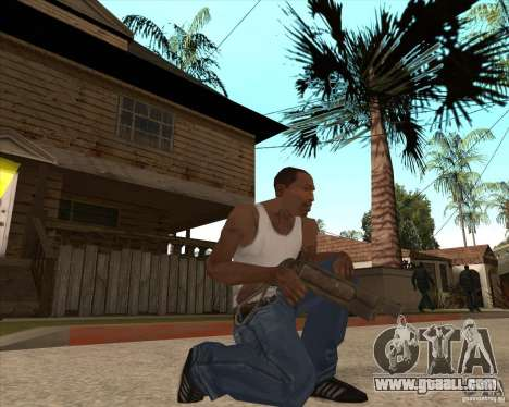 CoD:MW2 weapon pack for GTA San Andreas fifth screenshot