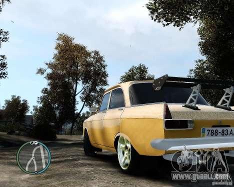 Moskvič 412 Street Racer [Alpha] for GTA 4 left view