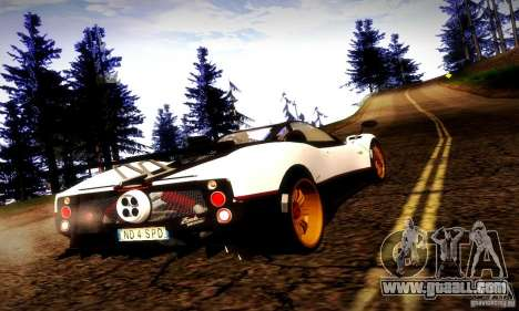 Pagani Zonda Tricolore V2 for GTA San Andreas left view