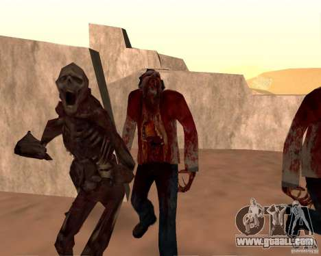 Zombie Half life 2 for GTA San Andreas tenth screenshot