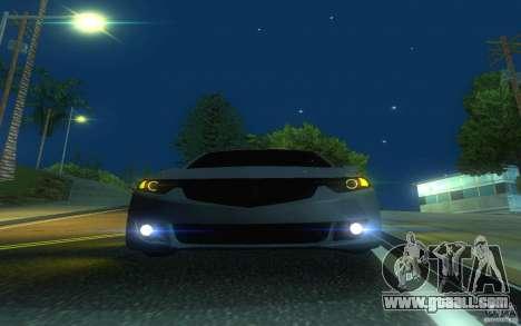 Honda Accord for GTA San Andreas upper view