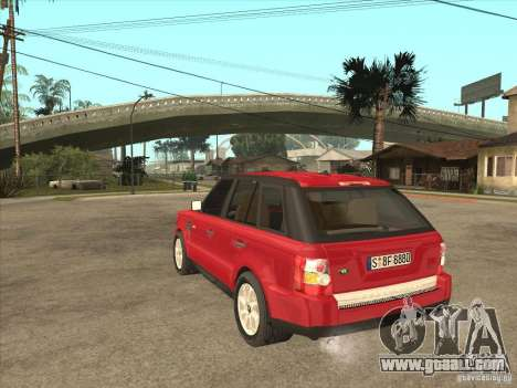 Range Rover Sport 2007 for GTA San Andreas