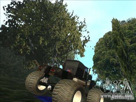 Monsterous Truck for GTA San Andreas right view
