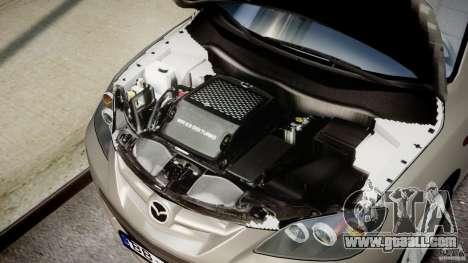 Mazda 3 2004 for GTA 4 back view