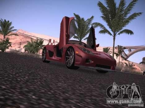 Koenigsegg CCX 2006 for GTA San Andreas back view
