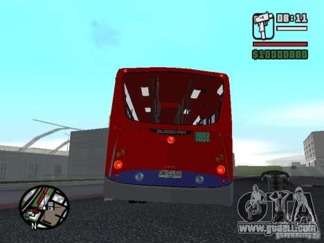 Busscar Urbanuss Pluss VW 17-230 EOD Alongado for GTA San Andreas right view