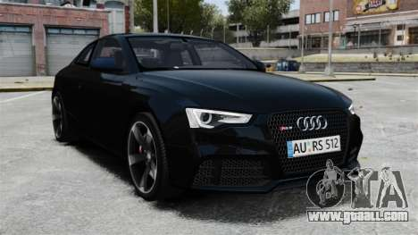 Audi RS5 2012 for GTA 4