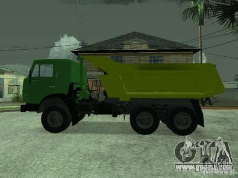 KAMAZ 55112 for GTA San Andreas back left view