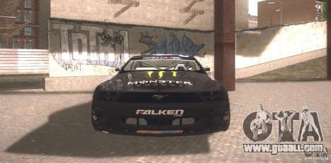 Ford Mustang Monster Energy for GTA San Andreas left view