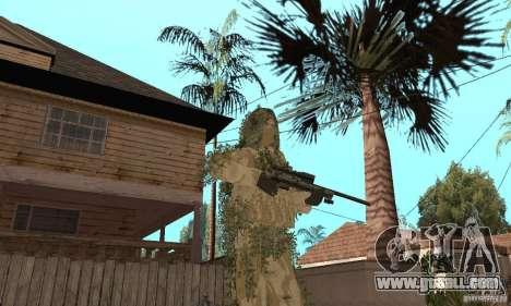 Skin sniper for GTA San Andreas fifth screenshot