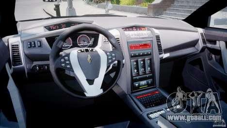 Carbon Motors E7 Concept Interceptor Sherif ELS for GTA 4 right view