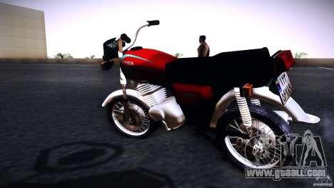 Honda CG 125 for GTA San Andreas left view