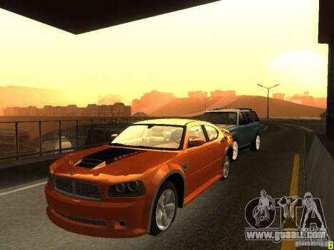 Dodge Charger From NFS CARBON for GTA San Andreas left view