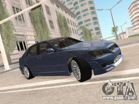 Lexus IS300 HellaFlush for GTA San Andreas