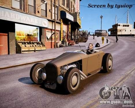 Roadster High Boy for GTA 4 inner view