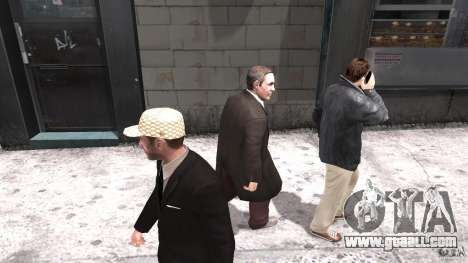 Gucci cap for GTA 4 second screenshot