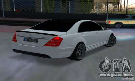 Mercedes-Benz S65 AMG Edition for GTA San Andreas left view