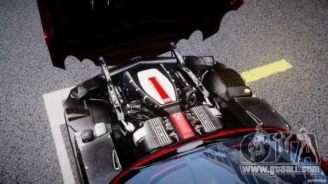 Mercedes-Benz McLaren SLR 722 v2.0 for GTA 4 inner view