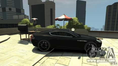 Aston Martin DBS v1.1 tinted for GTA 4 left view