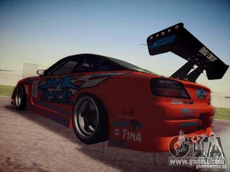 Nissan Silvia S15 Drift for GTA San Andreas left view