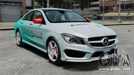 Mercedes-Benz CLA 250 2014 for GTA 4