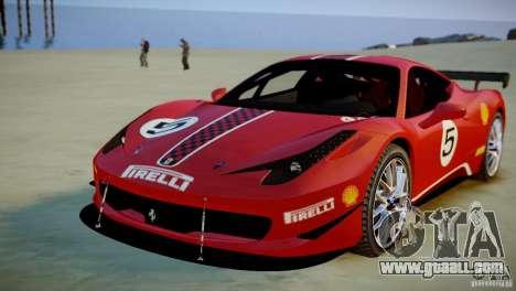 Ferrari 458 Challenge 2011 for GTA 4