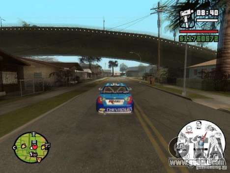 A unique speedometer with MEMES for GTA San Andreas third screenshot