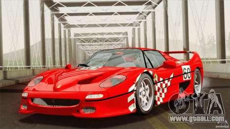 Ferrari F50 v1.0.0 Road Version for GTA San Andreas side view