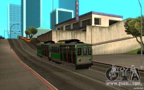 New tram mod for GTA San Andreas