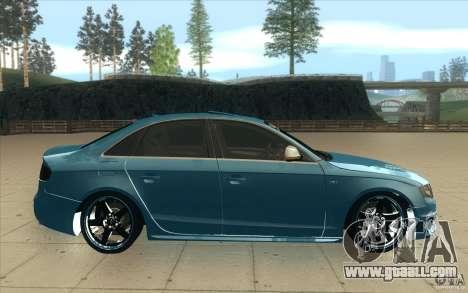 Audi S4 2009 for GTA San Andreas inner view