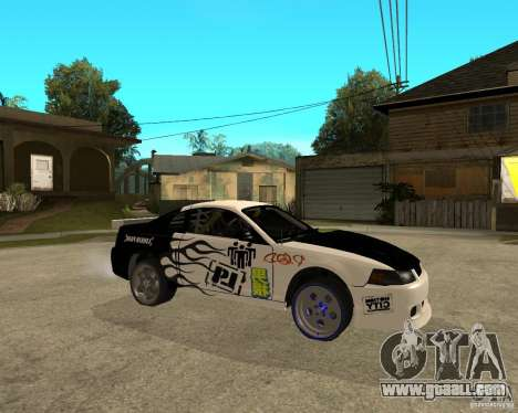 2003 Ford Mustang GT Street Drag for GTA San Andreas right view