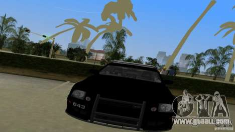 Saleen S281 Barricade 2007 for GTA Vice City back left view