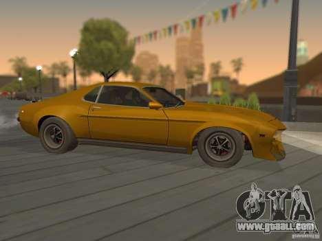 SPEEDEVIL from FlatOut 2 for GTA San Andreas left view