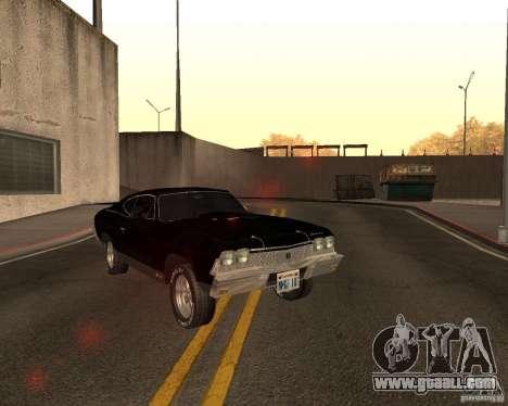 Chevrolet Chevelle 1968 for GTA San Andreas
