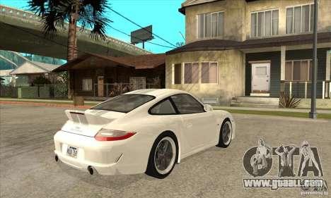 Porsche 911 Sport Classic for GTA San Andreas right view