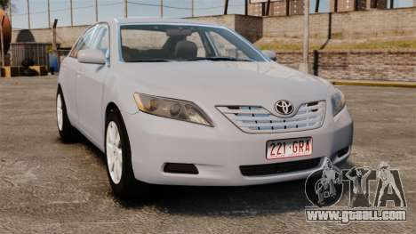Toyota Camry Altise 2009 for GTA 4