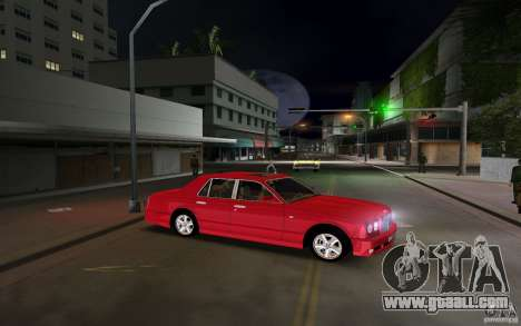 Bentley Arnage T 2005 for GTA Vice City back left view