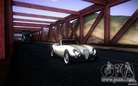 Wiesmann MF3 Roadster for GTA San Andreas interior