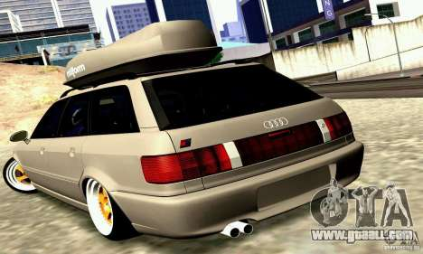 Audi RS2 Avant Thug for GTA San Andreas back left view