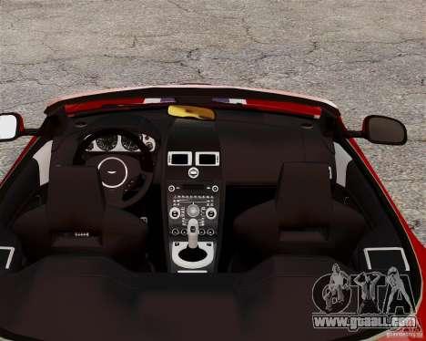Aston Martin DBS Volante 2010 v1.5 Bonus Version for GTA 4 back view