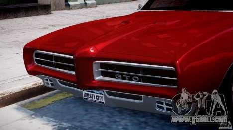 Pontiac GTO 1965 v1.1 for GTA 4 wheels