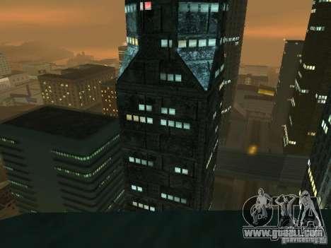 New textures skyscrapers LS for GTA San Andreas fifth screenshot