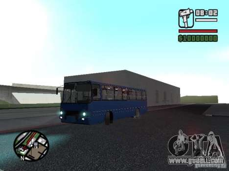 Ikarus 260.51 for GTA San Andreas inner view