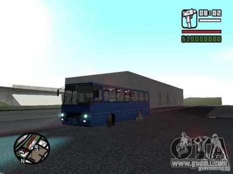 Ikarus 260.51 for GTA San Andreas inner view
