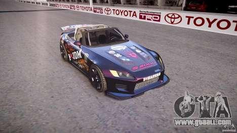 Honda S2000 Tuning 2002 Skin 1 for GTA 4 inner view