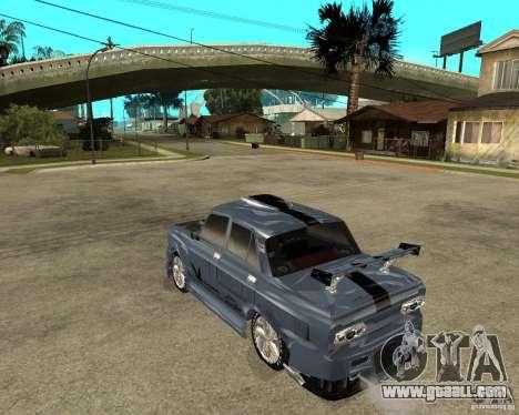 AZLK 2140 SX-Tuned for GTA San Andreas left view