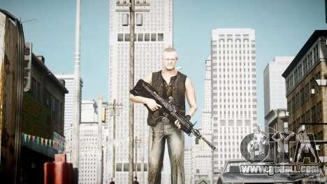 Merle Dixon for GTA 4 third screenshot