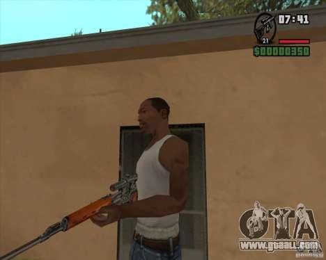 SVD for GTA San Andreas second screenshot